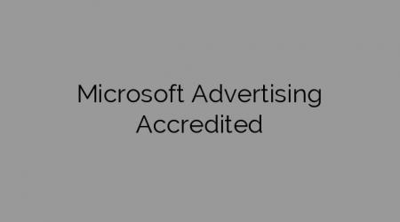 Microsoft Advertising Accredited