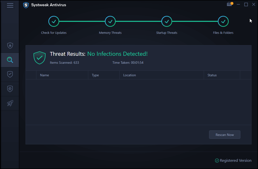 Systweak Antivirus